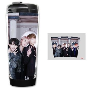 Актуална термо чаша с апликация на BTS