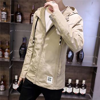 Мъжко тънко яке подходящо за ежедневие в няколко цвята