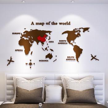 3D акрилни стикери - Държави