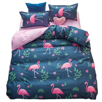 Памучен спален комплект в различни десени