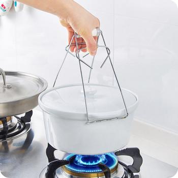 Иновативна щипка за чинии за затопляне на храна