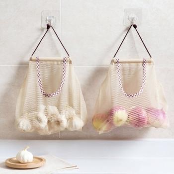 Чанти за стена за съхранение за плодове и зеленчуци