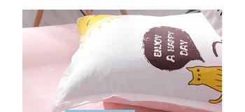 Луксозно спално бельо - десен лимони