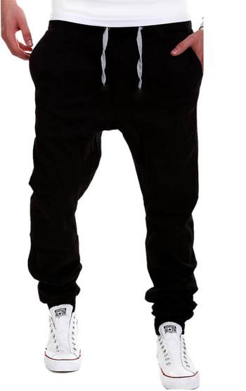 Ежедневен мъжки панталон с връзки в три цвята