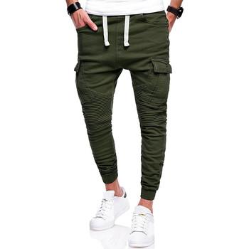 Мъжки ежедневен панталон със странични джобове в няколко цвята