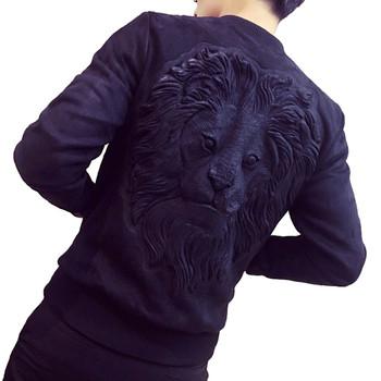 Μοντέρνο ανδρικό  μπουφάν σε διάφορα χρώματα και 3D εκτύπωση στην πλάτη