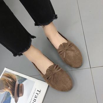Удобни ежедневни дамски обувки от еко кожа в три цвята
