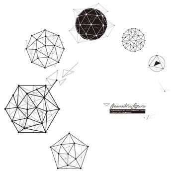 Стикер - Геометрични фигури