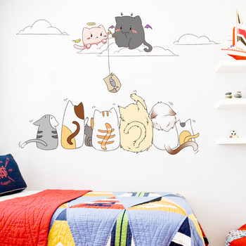 Стикери за стена - Котета
