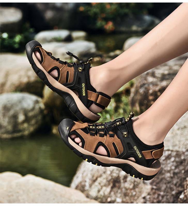 4864ea8fdbb Мъжки обувки за туризъм в два цвята - Badu.bg - Светът в ръцете ти