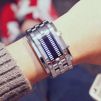 Мъжки електронен водоустойчив часовник-два модела