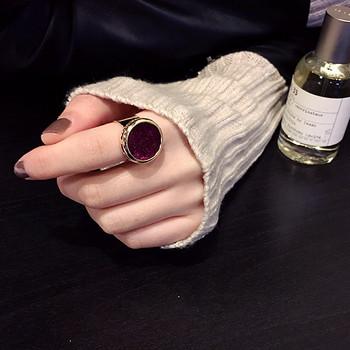 Модерен дамски пръстен в два цвята