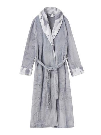 Дълъг мек халат в няколко цвята за мъже и жени