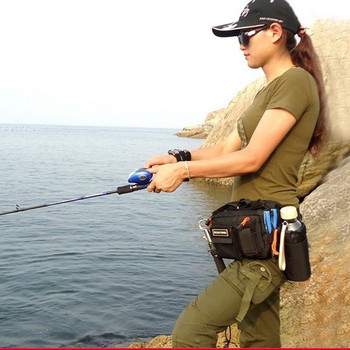 Мултифункционална чанта за риболов от водоустойчива материя в три цвята