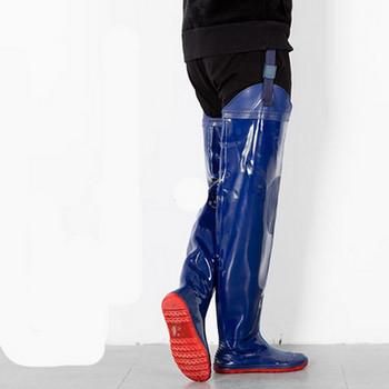 Високи мъжки гумени  ботуши подходящи за риболов в няколко цвята