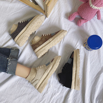 Ежедневни дамски обувки с кръпки в няколко цвята