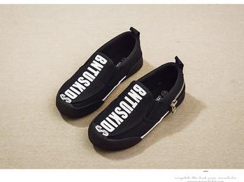 Детски обувки за момчета в два цвята - черен и син