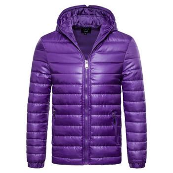 Αθλητικό casual μπουφάν με κουκούλα και τσέπες σε διάφορα χρώματα ... 53c8650f529