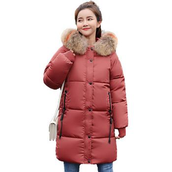 Стилно дамско дълго яке в шест цвята
