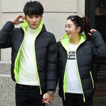 Ежедневно зимно яке с качулка в няколко цвята подходящо за мъже и жени