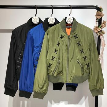 НОВ модел модерно дамско яке в син, зелен и черен цвят