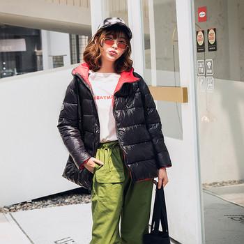 Καθημερινό  γυναικείο μπουφάν με κουκούλα σε διάφορα χρώματα