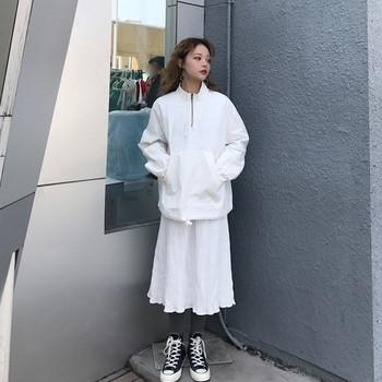 Καθημερινό γυναικείο μπουφάν για  το φθινόπωρο σε δύο χρώματα