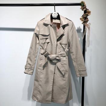 Μακρύ γυναικείο παλτό σε τρία χρώματα - Badu.gr Ο κόσμος στα χέρια σου 39a367064a4