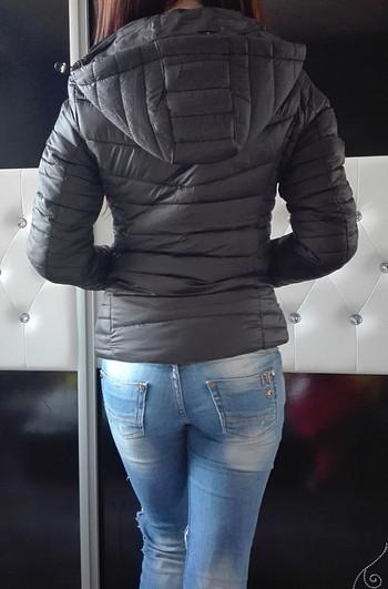 Дамско шушляково яке-пролетно-есенно черно