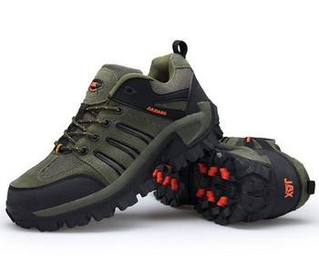 Мъжки обувки за туризъм в четири цвята
