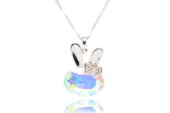 Колие Crystal Rabbit