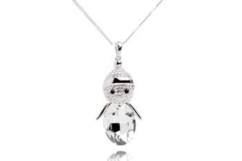Колие Silver Snowman