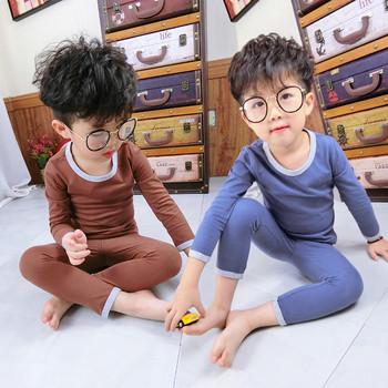 Детска пижама за момчета в четири цвята