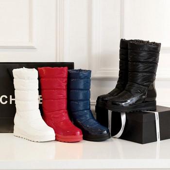 Ежедневни дамски шушлякови ботуши в четири цвята