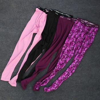 Дамски спортен еластичен  клин с висока талия в няколко цвята