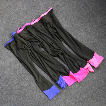 Ежедневен дамски спортен  клин с цветни елементи