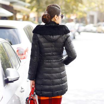 Μακρύ χειμωνιάτικο μπουφάν σε διάφορα χρώματα
