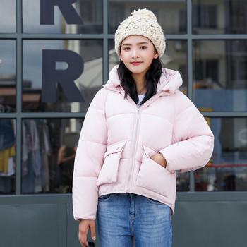 Γυναικείο  μπουφάν  με τσέπες σε διάφορα χρώματα