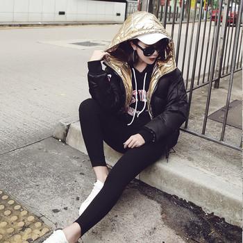 Дамско яке с качулка подходящо за ежедневие