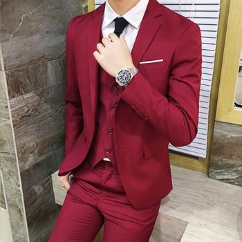 9019c7dc7e3 badu.gr - Κομψό ανδρικό κουστούμι σε διάφορα χρώματα από πέντε μέρη -  σακάκι, ...