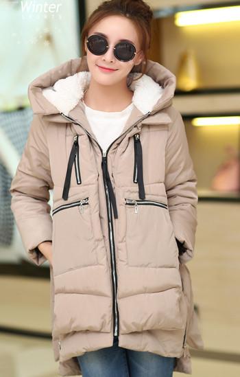 Дамско яке с мека подплата в четири цвята