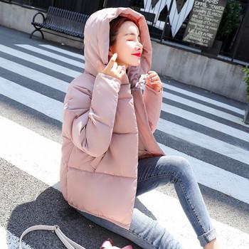 Κομψό γυναικείο μπουφάν με κουκούλα σε τέσσερα χρώματα