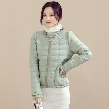 Модерно есенно дамско яке в няколко цвята