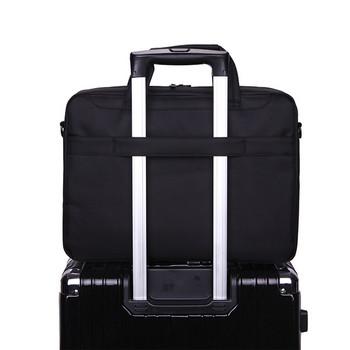 Чанта за лаптоп в няколко цвята с дълга дръжка