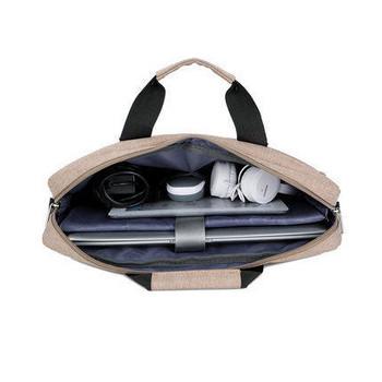 Стилна чанта за лаптоп в няколко цвята в подплата