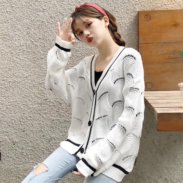 9808eaeb39d Модерна дамска плетена жилетка в три цвята - Badu.bg - Светът в ръцете ти