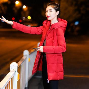 Γυναικείο  χειμερινό  μπουφάν με κουκούλα σε διάφορα χρώματα