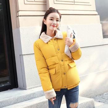 Γυναικείο μπουφάν με απαλή επένδυση σε διάφορα χρώματα