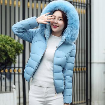 Μοντέρνο γυναικείο μπουφάν σε πέντε χρώματα