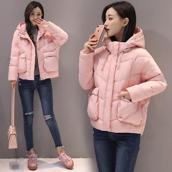 НОВО стилно дамско яке с джобове в няколко цвята